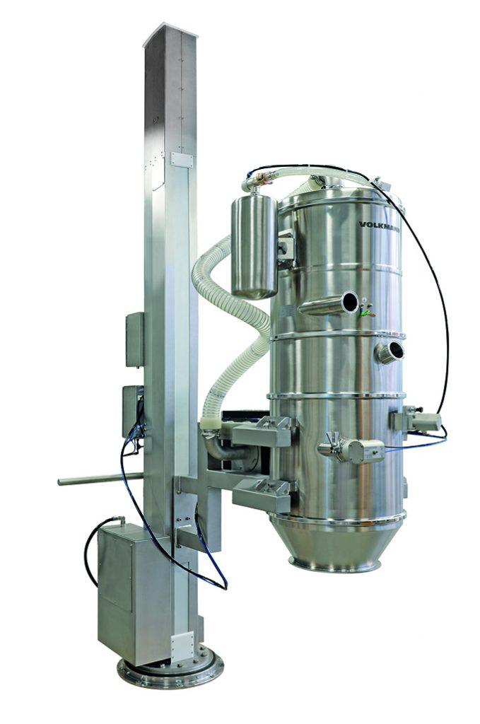 Comment supprimer l'échelle pour alimenter en poudre votre machine en hauteur ?